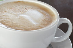 Caffe Latte Στοκ εικόνα με δικαίωμα ελεύθερης χρήσης
