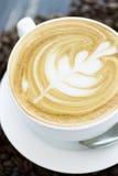 Caffe latte Στοκ φωτογραφία με δικαίωμα ελεύθερης χρήσης