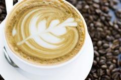 Caffe latte Στοκ Φωτογραφία