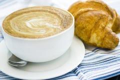 Caffe latte Στοκ Φωτογραφίες