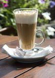 Caffe latte Stock Photos