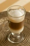 Caffe latte macchiato Royalty Free Stock Photography