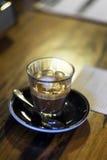 Caffe macchiato 免版税库存照片