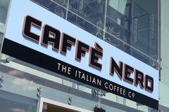 Caffe Nero Στοκ Φωτογραφία