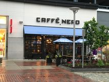 Caffe` Nero, Legacy Place, Dedham, MA Royalty Free Stock Images