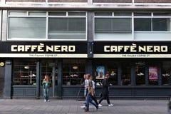 Caffe Nero, Londyn zdjęcie royalty free