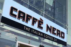 Caffe Nero Stock Photography