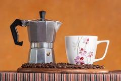 Caffe, stile italiano Immagini Stock