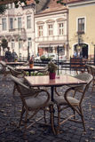 Caffe terrace Royalty Free Stock Photography