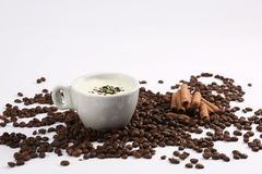 Caffee latte Stock Image