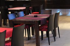 Caffee restaurant Stock Images