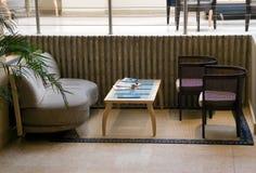 Hotelcaffee royalty-vrije stock afbeeldingen