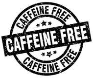 Caffeine free stamp. Caffeine free grunge vintage stamp isolated on white background. caffeine free. sign stock illustration