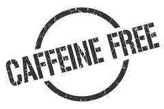 Caffeine free stamp. Caffeine free round grunge stamp. caffeine free sign. caffeine free vector illustration