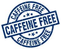 Caffeine free stamp. Caffeine free grunge vintage stamp isolated on white background. caffeine free. sign vector illustration