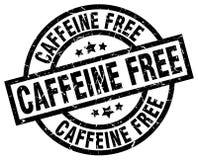 Caffeine free stamp. Caffeine free grunge vintage stamp isolated on white background. caffeine free. sign royalty free illustration