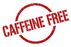 Caffeine free stamp. Caffeine free round grunge stamp. caffeine free sign. caffeine free royalty free illustration
