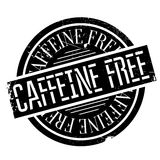 Caffeine free stamp Royalty Free Stock Image