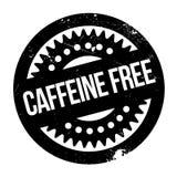 Caffeine free stamp Royalty Free Stock Photo