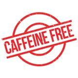 Caffeine free stamp Stock Images