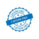 Caffeine free stamp illustration Royalty Free Stock Image