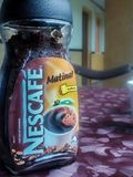 NESCAFE CAFFEINE stock photography
