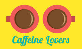 Caffeine Lovers Royalty Free Stock Image