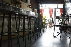 Caffetteria chiusa Fotografie Stock