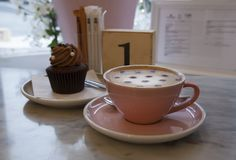 Caffetteria inglese Стоковое Изображение RF