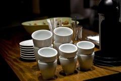 Caffetteria interna Fotografia Stock Libera da Diritti