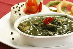 Cafriel kurczaka curry z Rice od Goa, India fotografia royalty free
