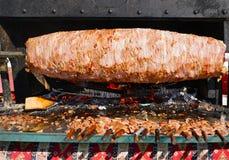 Cag Kebab известно для города Erzurum, Турции Стоковые Изображения RF