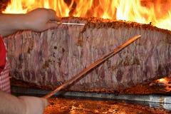 Cag Kebab 免版税库存图片