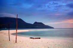 Cagayan DE Oro White Eiland Royalty-vrije Stock Foto