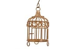 Cage à oiseaux Photographie stock libre de droits