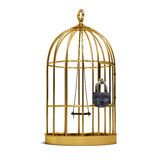 Cage for birds Stock Photos