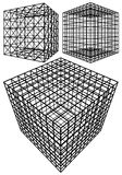 Cage Box Cube Vector Royalty Free Stock Photo