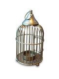 Cage candle holder Royalty Free Stock Photography
