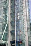 Cage d'ascenseur en verre Images libres de droits