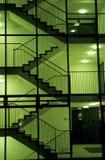 Cage d'escalier Image libre de droits