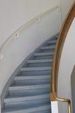 Cage d'escalier concrète Photos libres de droits