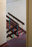 Cage d'escalier concrète Image stock