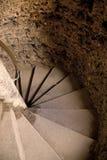 Cage d'escalier de château Images libres de droits