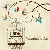 Cage d'oiseau Images libres de droits