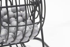 Cage de bingo-test image libre de droits