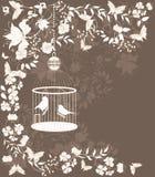 Cage de cru Images libres de droits