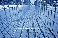 Cage de fer Photos stock
