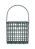 Cage de graisse de rognon pour alimenter les oiseaux sauvages Image stock
