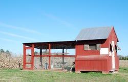 Cage de poulet Photo stock
