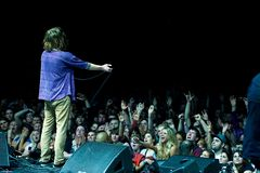 Cage the Elephant Royalty Free Stock Photo